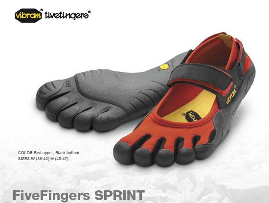 Vibram FiveFingers Running Shoes